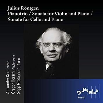 Pianotrio / Sonata for Violin and Piano / Sonate for Cello and Piano