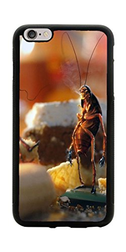 VUTTOO Case for Apple iPhone 7 Plus 5.5inch Only (NOT FIT 4.7inch) - April Fools Day Cockroaches Bread Kitchen Case - Shock Absorption Protection Phone Cover Case