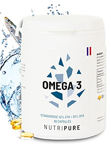 Omega 3 3000mg • Huile de Poissons Sauvages EPAX...