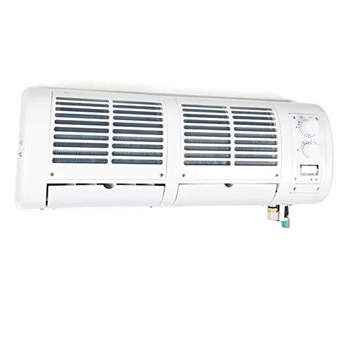 DIFU 200W 12V 60x15x15x22 cm Auto climatizador de pared aire aire acondicionado coche camión refrigerador de 3 velocidades para coche, autobús, caravana