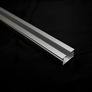 ikea panel curtain holder silver