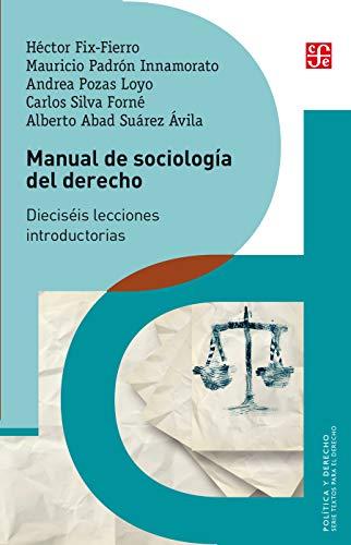 Manual de sociología del derecho. Dieciséis lecciones introductorias