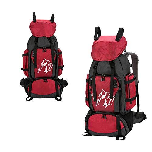 Ssszx trekkingrugzak, 90 liter, nylon, reisrugzak, bergbeklimmen, wandelen, outdoor, sporttas