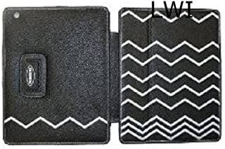 Missoni for Target Leather Apple IPAD 2 Case Black White ZigZag Embroidery