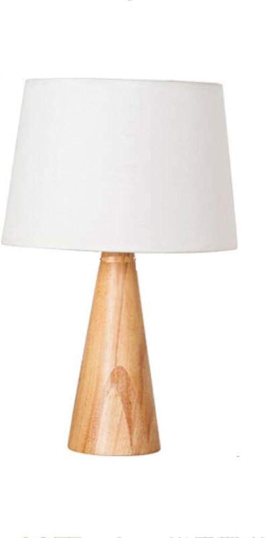 Led Desk Lamp Simple Wood Art Energy Saving Eye Predection Study Reading Dormitory Bedside Lamps