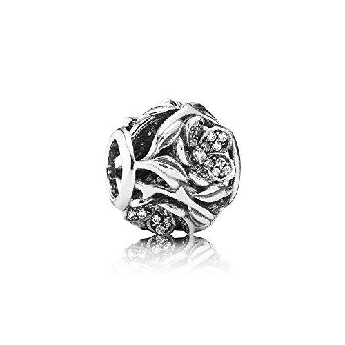 NEW Pandora Sterling Silver 925 European Charm Pandora Mystic Floral