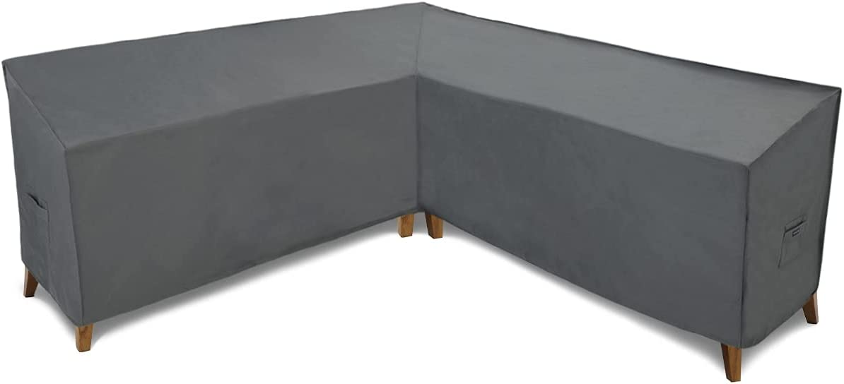 Patio Watcher 100 Inches trust Sectional New product Lounge Set Waterproof Cover