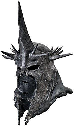 Rubbies France Vollmaske Hexenkönig von Angmar Herr der Ringe Lizenzmaske schwarz Einheitsgröße