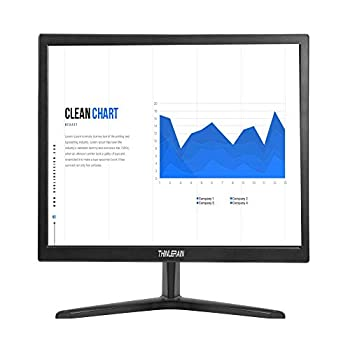 Thinlerain PC Monitor 17-inch 4 3 LED Backlit Monitor 1280 X 1024 60 Hz Refresh Rate 5Ms Response Time VESA Mountable VGA HDMI TN Panel Built-in Speakers