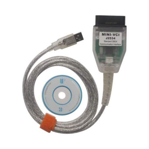 Generatic OBD2 Diagnosegerät, Mini VCI J2534 Codeleser Kabel für Techstream