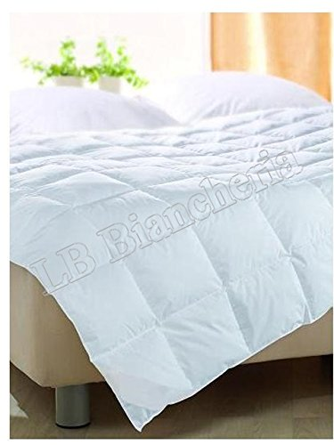 LOVELY HOME - Piumino – Interno Sacco Bianco Estivo da 2 Piazze Lettomatrimoniale Cm 200X250