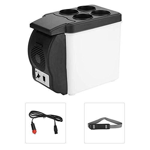 AILZNN 6L Mini Portátil Refrigerador del Coche, 12v Congelador De Coche Nevera...