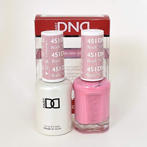 DNDDuo Gel (Gel & Matching Polish) Fall Set 451 - Rock 'N' Rose