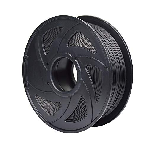 HAWKUNG 1.75 mm 3D Printer Carbon Fiber Filament,1kg Spool (2.2 lbs),3D Printer Filaments Compatible with Most 3D Printer and 3D Pen