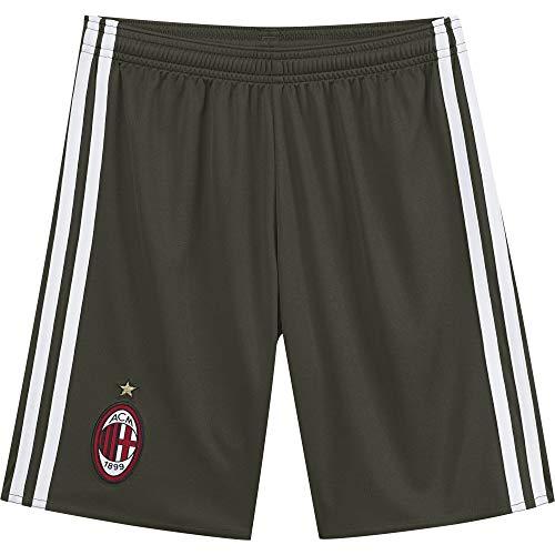 adidas ACM 3 SHO Y - 3 sportkleding korte broek AC Milan 2015/16 - jongen, groen/wit, 128.