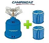 ALTIGASI 206S et C206GLS - Réchaud à gaz de camping - Puissance de 1230W - Poids de 280g 2cartouches de rechange de 190g