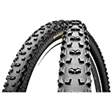 Continental Mountain King Neumáticos para Bicicleta, Unisex Adulto, Negro, 26 x 2.4