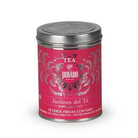 Jardines del Té - Té verde fresas con nata