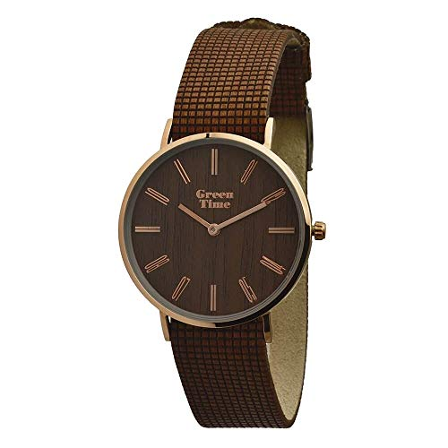Orologio legno Wood Watch Green Time by ZZERO - Gent - ZW046C