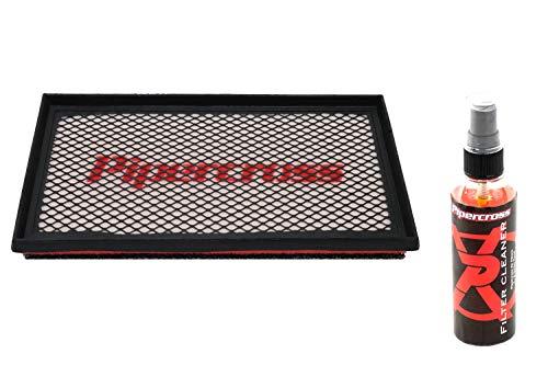Pipercross Filtro de aire + Limpiador Compatible para Fiat Ulysse II 179 2.2 JTD 128 PS 08/02-07/06