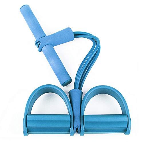 Trainingsrohr Sit Up Abs Übung Übung Pedal Puller Muskeltraining Diät Muskeltraining Trainingsgeräte Abs Ausrüstung Fitnessgeräte Yoga-Gurte Pedal Pedal Puller Unisex Multifunktions-Zugseil