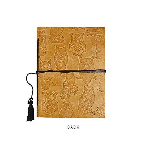 Unline Paper 15x10cm Regalo perfetto per diario di viaggio e quaderni da scrivere in regalo di Blocco note dialy rilegato in pelle fatto a mano notebook in pelle storeindya Journal Wiritng