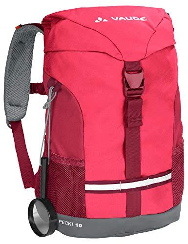Vaude Kinder Rucksäcke10-14L Pecki 10, Bright Pink, One Size, 12456