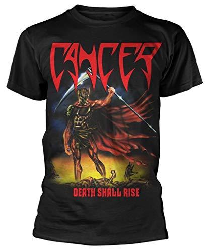 ILKY Cancer 'Death Shall Rise' T Shirt,Camicie e T-Shirt(Medium)