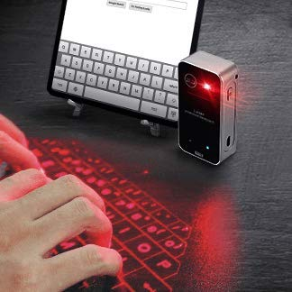 Dartle Type Digital Projection Keyboard Virtual Laser Keyboard Compatible with Android and iOS, PC