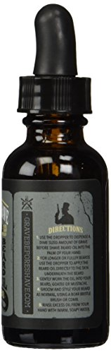 GRAVE BEFORE SHAVE Gentlemen's Blend Beard Oil (Bourbon Scent) by Grave Before Shave