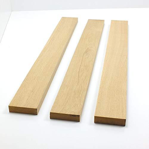 1 Stück Kantel bzw. Riegel gehobelt aus Eiche massiv/diverse Längen 20-180 cm zur Auswahl/Querschnitt 90 x 22mm kammergetrocknet Massiv