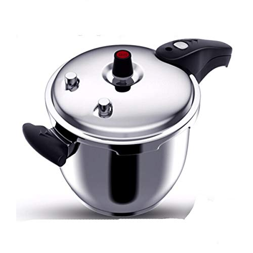 Xiaoxian Pressure Cooker, 304 Stainless Steel Pressure Cooker, Induction Cooker Gas Open Flame Universal, 20/22/24/26cm, Best Choice For Kitchen Utensils Steamed out food (Size : 24cm)