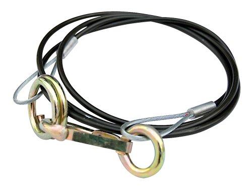 TFA 88667 Abreissseil mit Haken und Ringen, 1000 mm