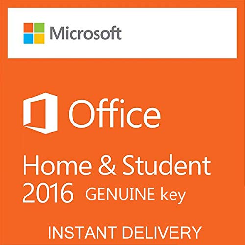 Office Home and Student 2016 RETAIL (ESD) License working KEY by e-mail