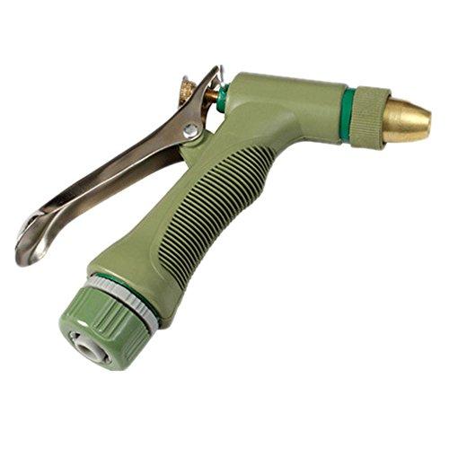 Ampliable manguera de jardín Pistola de agua Suministros for el jardín Pistola de pulverización de aleación de zinc de alta presión adecuada for el hogar, Equipos for el cuidado del césped, for el rie