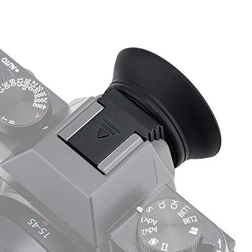 PROfezzion Grandi Estese in Morbido Silicone Oculare per Fujifilm X-T30, X-T20, X-T10 (Installato e Protetto con Fotocamera Hot Shoe)