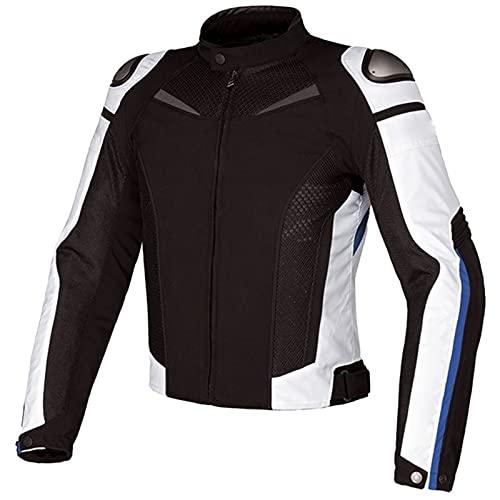 ETScooter Chaqueta Moto Hombre con CE Protecciones, Textil Impermeable...