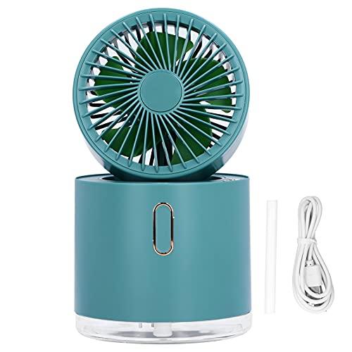 ROMACK Ventilador de nebulización, Mesa Plegable Ventilador de nebulización Horas de Trabajo largas para Exteriores para Oficina