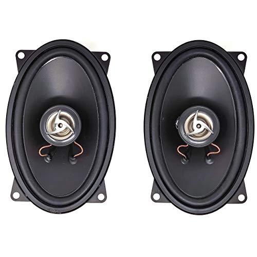 Vinciann Coppia di Casse Altoparlanti Stereo diffusore coassiale per Auto Automobile 300W Max 2 Vie OVALI 90x150mm GM2046