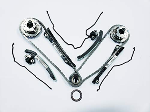 Updated Ford OEM 5.4L 3V Phaser Repair Kit - Phaser Sprockets, Tensioners, Guides, Chains 18pc kit