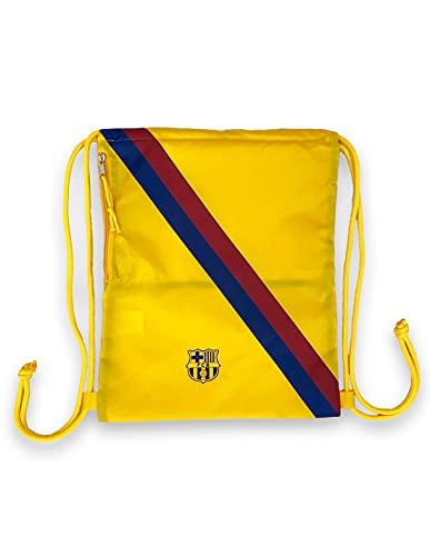 R ROGER'S Gymsack mochila FC Barcelona amarillo Barça
