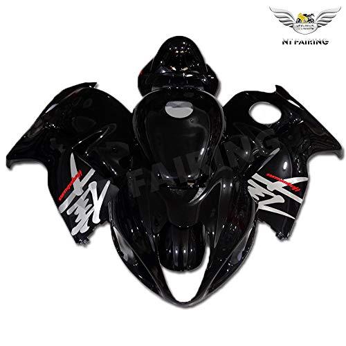 NT FAIRING Complete Glossy Black Fit for SUZUKI 1997-2007 GSXR 1300 Hayabusa New Injection Mold ABS Plastics Bodywork Body Kit Bodyframe Body Work 1998 1999 2000 2001 2002 2003 2004 2005 2006