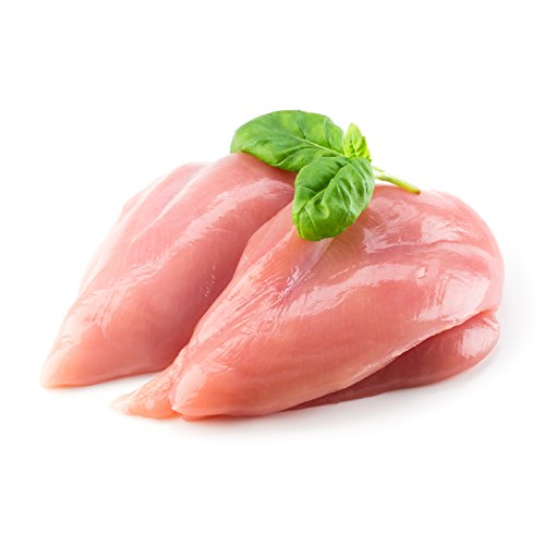 H.F.'s Outstanding All Natural Skinless Boneless Chicken Breast, 80 Ounce