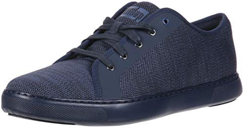 FitFlop Men's Christoph Knit Sneakers, Supernavy, 11 M US