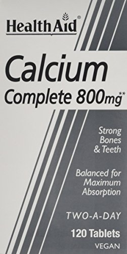 HealthAid Calcium Complete 800mg - 120 Vegan Tablets