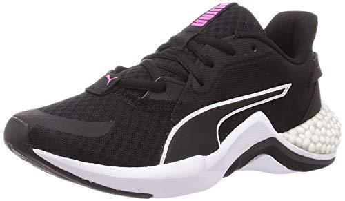PUMA HYBRID NX Ozone Damen Laufschuhe Puma Black-Luminous Pink UK 4.5_Adults_FR 37.5