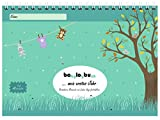 babylogbuch - mein erstes Jahr - farbmix - inkl. Aufkleberset - Baby-Kalender/Baby-Tagebuch -...