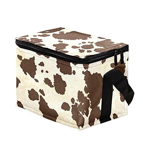 Bolsa Termica,Bolsa de Almuerzo,Bolsa de Pícnic ,Bolsa Nevera Portatil ,Bolsa Térmica Comida,Bolsa de Almuerzo Térmica Impermeable Grupo de textura animal
