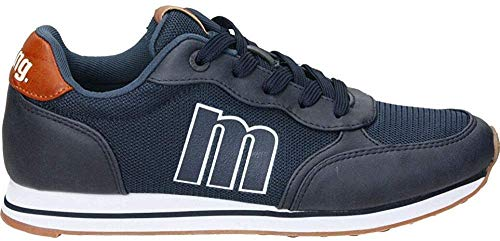 MTNG Attitude 84361B, Zapatillas para Hombre, Azul (Wax Suede Marino C49102), 43 EU