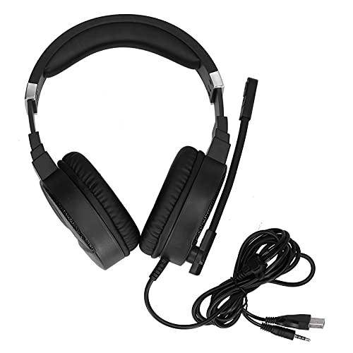 Auriculares para juegos con cable, sonido envolvente 7.1, auriculares para juegos con...